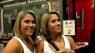 SEMA Video Coverage Booth Babe Challenge #1 Winning Answer! V8TV