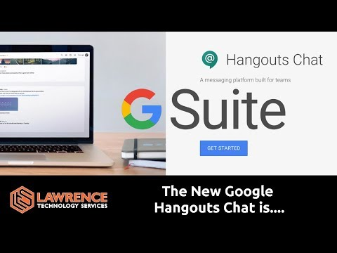 Google's Gsuite Slack Competitor Hangouts Chat Is Interesting...