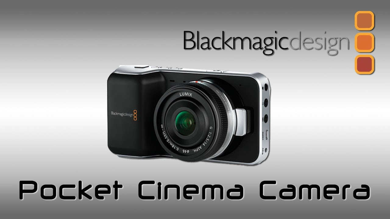 Tutorial Blackmagic Pocket Cinema Camera ITA - sub ENG