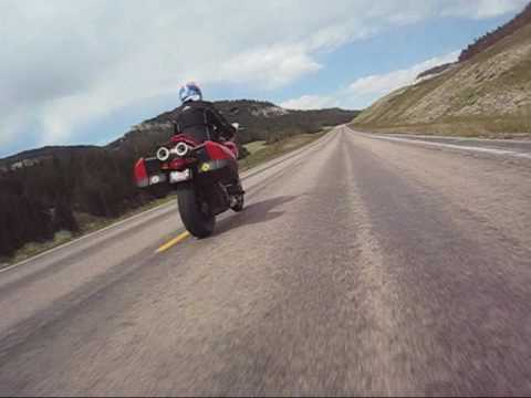 Crossing the Big Horn Mountains on Wyoming Highway 14-A