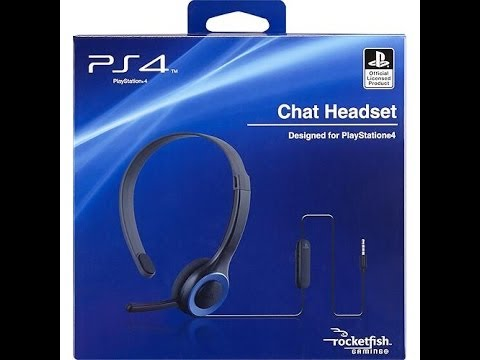 Rocketfish Official Playstation 4 Chat Headset | Unboxing