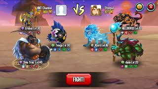 ✔️ THỬ THÁCH Solo Monster Legends Game Mobiles Android Ios Thế Giới Quái Vật New 56