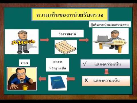 Internal Auditing  บทที่ 11