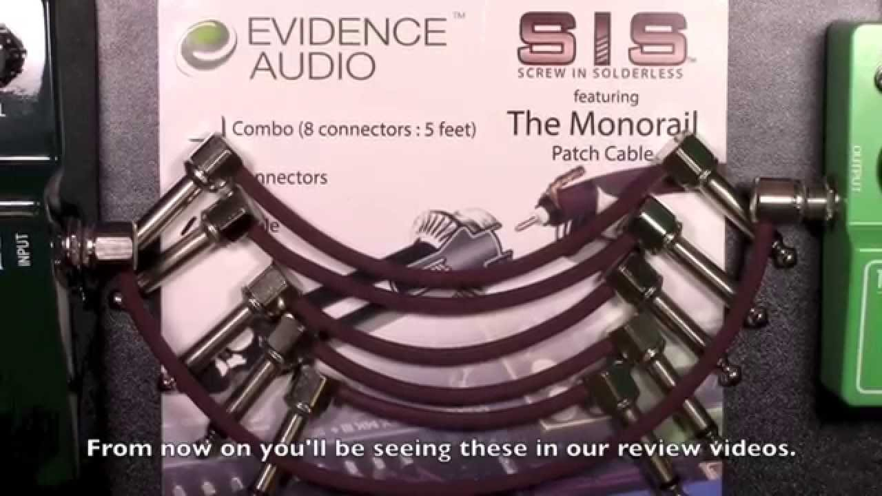 Evidence Audio Sis Patch Cable Review Bestguitareffects