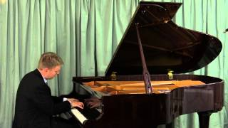 Grieg: To The Spring, Lyric Pieces Op. 43 No. 6 performed by Michael J P Burke