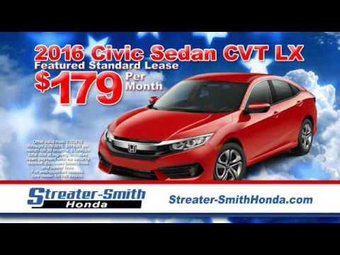 Streater Smith Honda >> Streater Smith Honda Tv Commercial February 2016