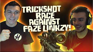 The Trickshot Race Against FaZe Linkzy! #2