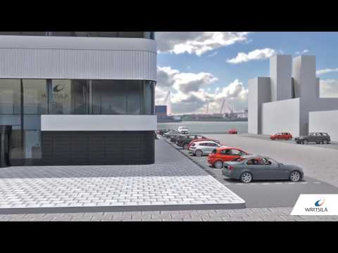 Animatie voor Wärtsilä , welkom en veiligheid