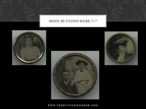 The Buttonmonger Antique Tintype Buttons.wmv