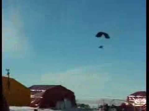 Первые в мире полёты аэрошютов в Антарктиде!