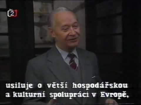 Alexander Dubček - rozhovor francouzské televizi (Bratislava, 19.2.1989)