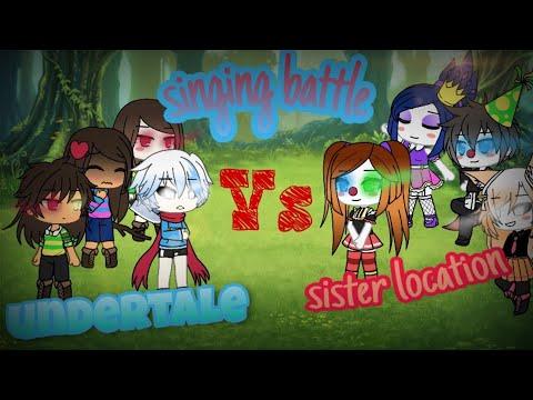 Triplets And Skeleton Vs Sister Location  •  Singing Battle  •  AU  •  Part 1
