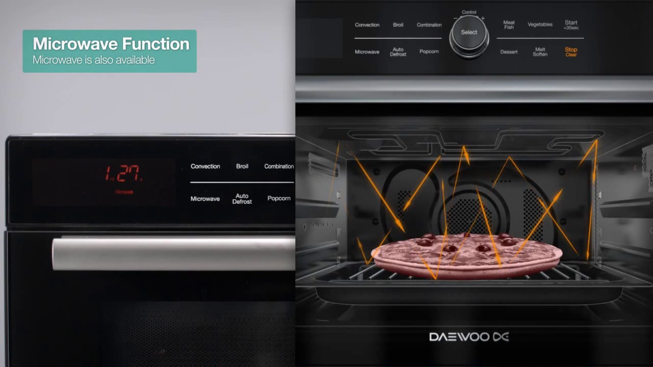 Microwave Convection Grill Oven