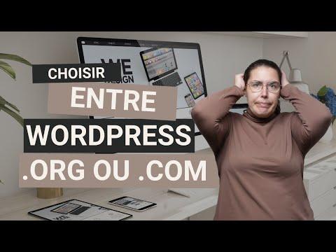 Créer son site photo avec Wordpress ! Mais quelles différences entre Wordpres.com ou Wordpress.org ?
