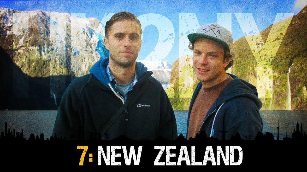 HK2NY Ep 7: Backpacking in New Zealand