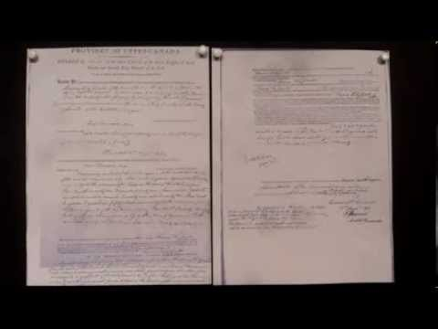 Land Patent, Land Grant, Letter of Patent