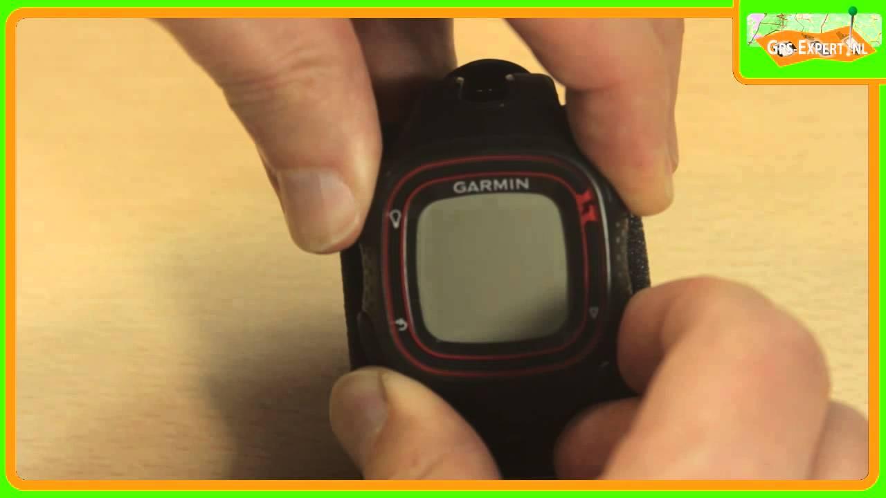 Garmin Forerunner 10 >> Garmin Forerunner 10 Hard Reset English Youtube