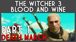 The Witcher 3: Blood And Wine (Death March) Part 1: Envoys, Wineboys - Golyat Boss