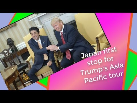Japan -  first stop for Trump's Asia Pacific tour: Review Current World News