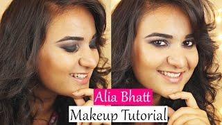 Alia Bhatt Inspired Makeup Tutorial -Small and Hooded eyes