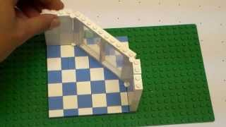 Lego Angled Wall (tutorial)