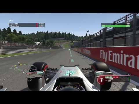 F1 2016 Game Lap Guide Belgium