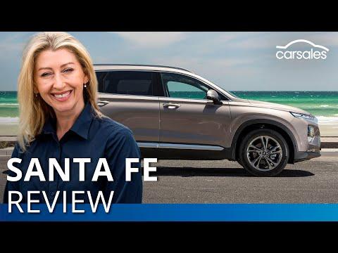 2019 Hyundai Santa Fe Highlander Review | Carsales