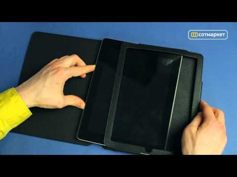 Видео обзор чехла Ainy BB-A017 для Apple IPad 2/3 от Сотмаркета