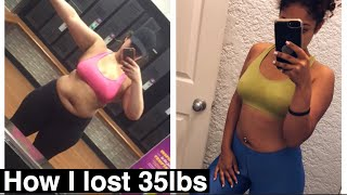 Body: How I Lost 35lbs | How to Kickstart Your Weight Loss Journey