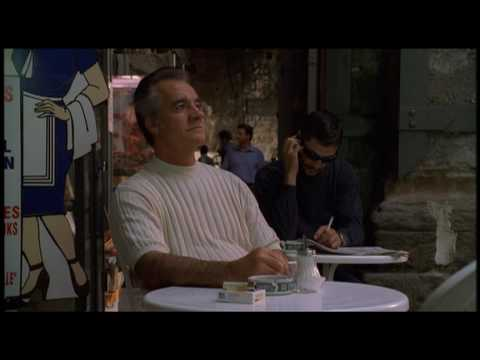 The Sopranos Episode 17 Paulie Walnuts in Italy With David Chase Cameo