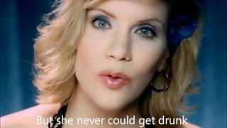 Brad Paisley & Alison Krauss Whiskey Lullaby w/lyrics