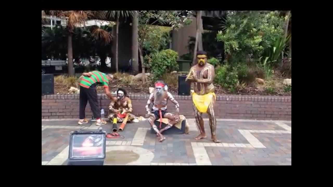 Aboriginal music and dance Australia موسیقی و رقص بومیان استرالیا