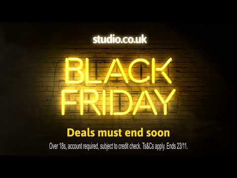 Studio - Black Friday Deals must end soon