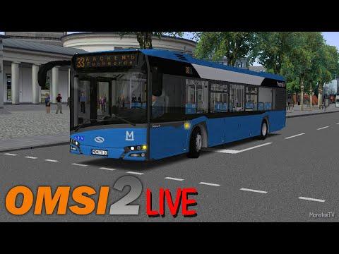 OMSI 2 [ONLINE] Livestream [German]