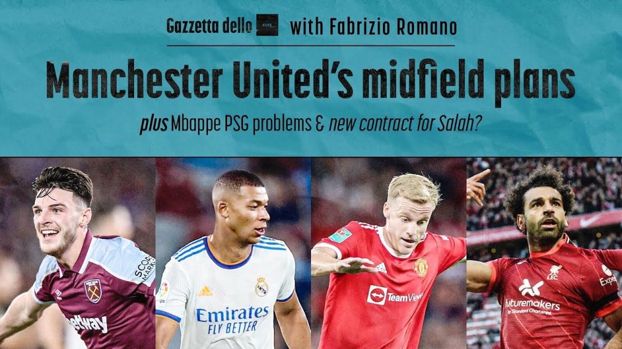Download Manchester United's Midfield Transfer Plans | Gazzetta Dello Five ft. Fabrizio Romano