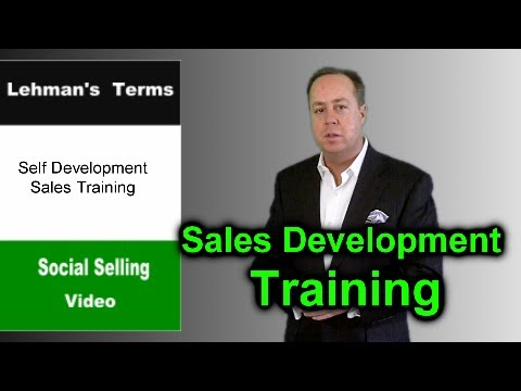 Sell More Make Personal Sales Development Training a Priority  Social Selling TV