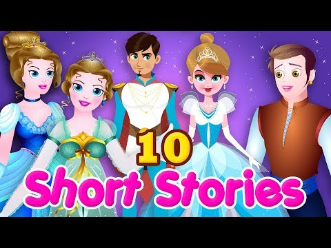 Short Stories For Children | 10 Best Fairy Tales For Kids | English Stories Collection