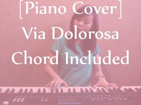 Piano Cover Via Dolorosa Chord Included Youtube