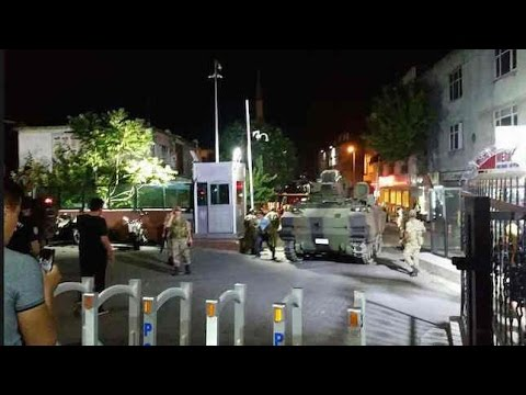 Martial Law Declared In Turkey - 16 July 2016