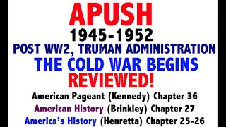 American Pageant Chapter 36 APUSH Review
