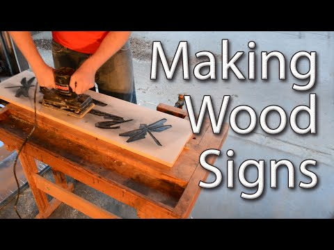 Making Wood Signs With a Router
