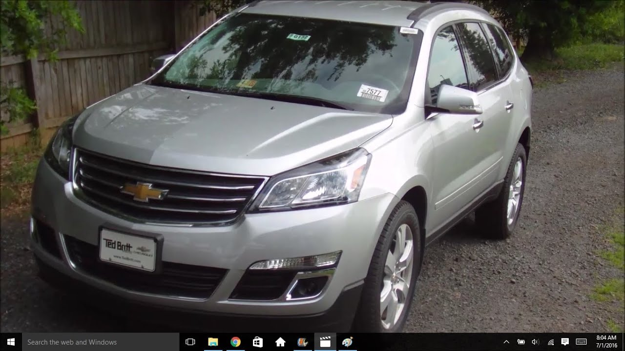 2016 Chevrolet Traverse Lt New Car Review