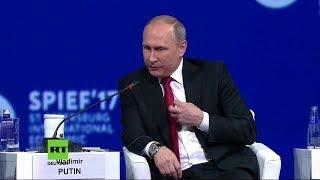 Merkel findet klare Worte - Putin aber auch - Souveränität Deutschlands eingeschränkt