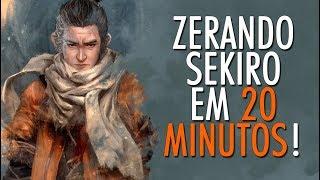 SEKIRO FOI TERMINADO EM APENAS 24 MINUTOS! (Speedrun)