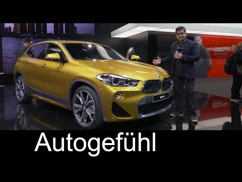 BMW X2 REVIEW SUV Coup NAIAS 2018 Autogefhl