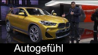 BMW X2 REVIEW SUV Coupé @ NAIAS 2018 - Autogefühl