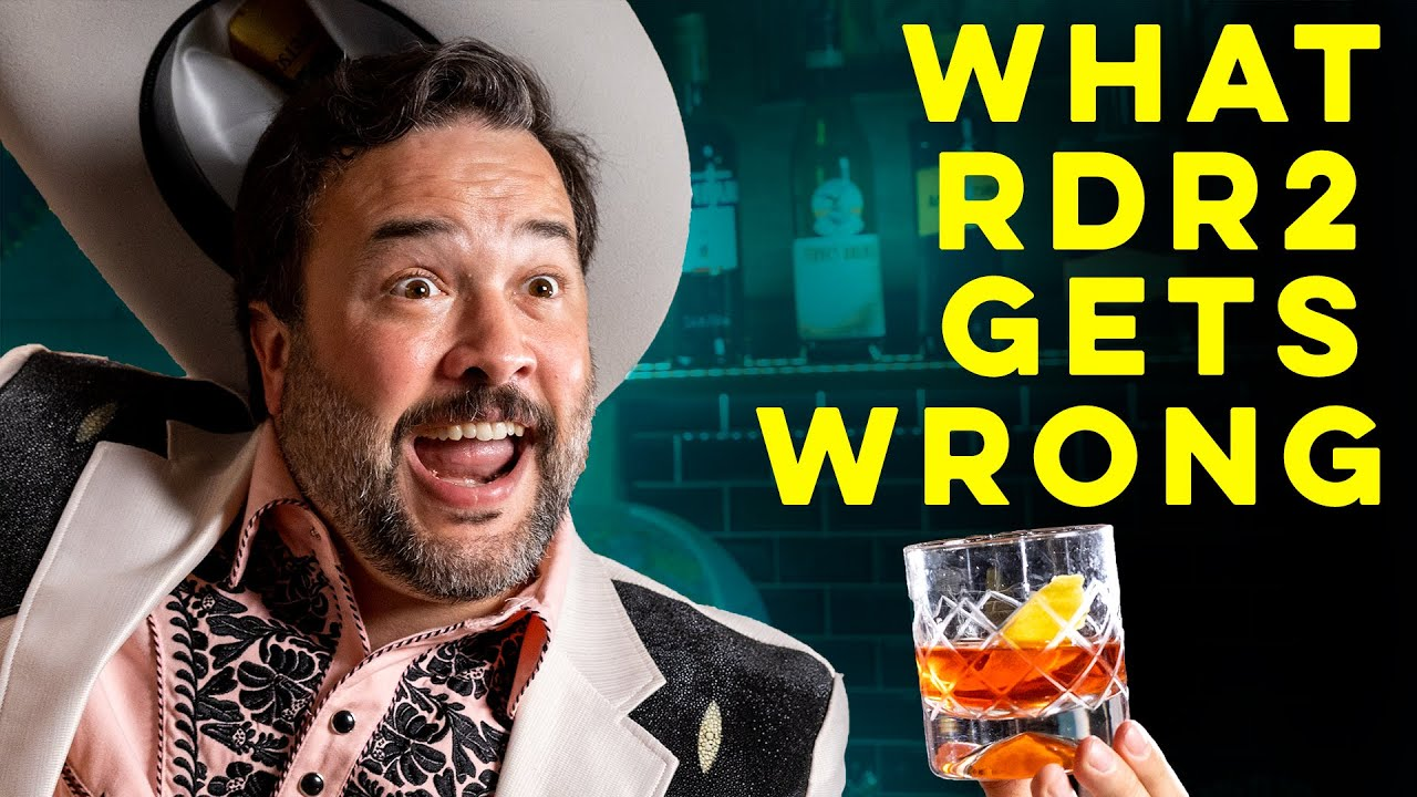 Red Dead Redemption 2 is Wrong About  the Wild West | How to Drink