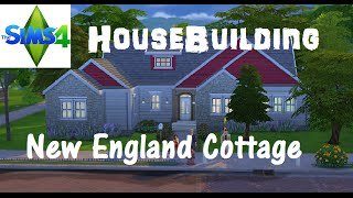 The Sims 4: House Building - New England Cottage