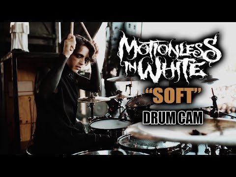 Motionless In White | Soft | Drum Cam (LIVE)