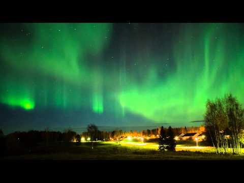 Northern Lights Timelapse - Luleå, Sweden